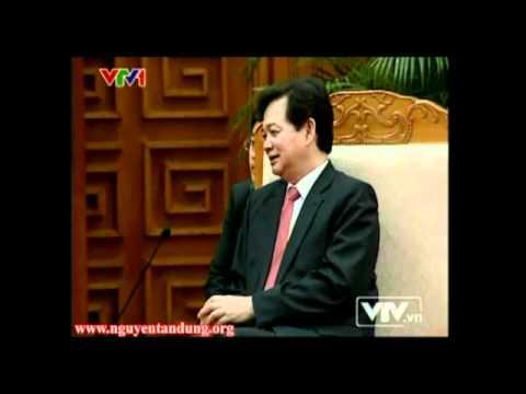 Thủ tướng Nguyễn Tấn Dũng tiếp bộ trưởng ngoại giao Đam Mạch