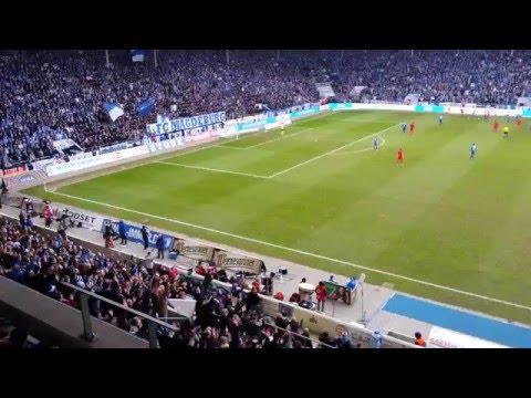 Video: 1. FC Magdeburg gegen Hansa Rostock: Wechselgesang