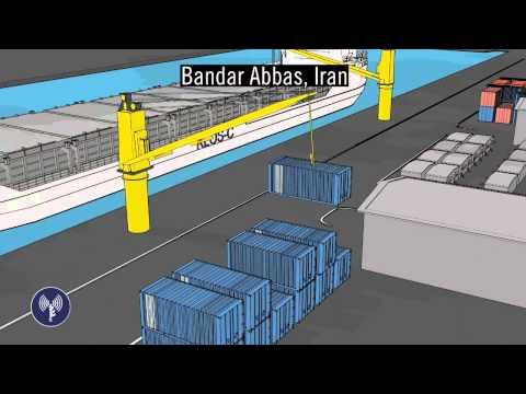 Analyse de l'interception du cargo en provenance d'Iran