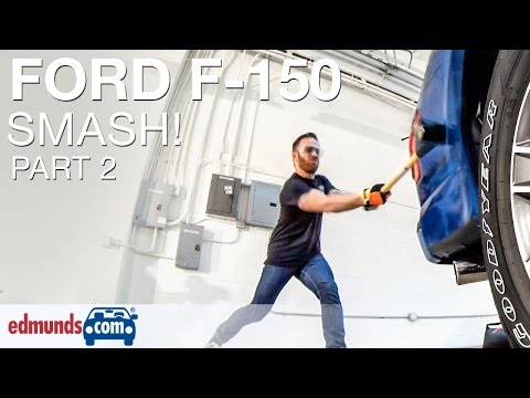 Edmunds.com Editors Sledgehammer Aluminum 2015 Ford F-150 | PART 2