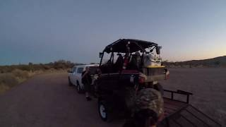 We take you along on our night time desert adventure in the Teryx.