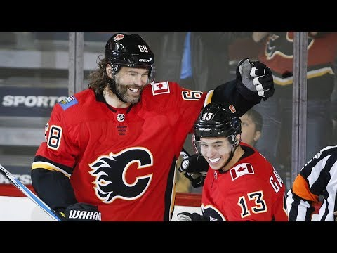Video: Jagr scores first as a Flame, Draisaitl delivers, Boyle scores emotional goal | Plays of the Night
