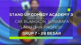 Video Stand Up Comedy Academy 3 : Cak Blangkon, Surabaya - Lagu dan Profesi MP3, 3GP, MP4, WEBM, AVI, FLV September 2017