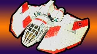 Star Wars T6 Shuttle Lego Speed Build