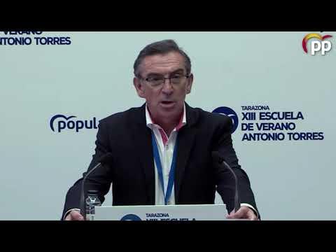 Beamonte acusa a los gobiernos de izquierdas de no hacer nada frente a problemas sociales