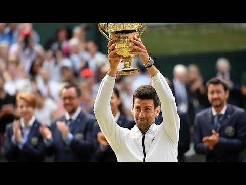 Tennis: Djokovic gewinnt Wimbledon-Titel im Endspiel  ...