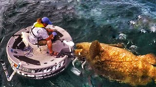 Crazy Fishing Challege Video - New Name Monster Fish Offshore On Ultra Skiff In Florida. Capt Jon Black and Capt Ben Chancey of Chew On This have a monster fish name challenge on an ultra skiff.Be sure to check outhttp://www.youtube.com/realsaltlifefor more great videosUpdate:INCREDIBLE HUGE CATFISH 8,5 FEET - 250 LBS - HD by CATFISHING WORLDhttps://www.youtube.com/watch?v=_IHpTBtHrQQHot UpdateDIY Homemade Clothes Hanger BOWFISHING REEL!https://www.youtube.com/watch?v=zmwdkdnr1BMcheckoutThe most RANDOM Pond Bass Fishing video you will EVER watch..https://www.youtube.com/watch?v=O-mREAj5d10▬▬▬▬▬▬▬ About Chew On This ▬▬▬▬▬▬▬Chew On This provides the viewer a first hand look at catching mean aggressive high intensity fish fishing videos on the web. Captain Ben Chancey does fishing at its pinnacle and highest level of difficulty. Captain Ben has caught giant fish on just about everything including paddleboards, Kayaks, floats tubes, ultra skiffs, bay boats, flats boats, sportfishers and even gheenoes. Chew On This videos and content have been featured on Discovery, National Geographic, Today Show, Good Morning America, Fox News, ESPN, Fox Sports, The Weather Channel and many more! ► NEW VIDEO EVERY WEDNESDAY► Click Here to Subscribe → http://bit.ly/1tQiHaf► Find out More about boat → http://ultraskiff.com► Website → http://chewonthis.tv• Instagram → http://instagram.com/captchancey• Twitter → http://twitter.com/#!/captchancey• Email → captchancey@gmail.com• Snapchat → chewonthisfish Ben Chancey▬▬▬▬▬▬▬ PROMOTIONS ▬▬▬▬▬▬▬Remote Battery Boosterhttp://www.safetyboost.com#safetyboost.com#chewonthis#saltlifeClick Here to Subscribe! ► http://bit.ly/1tQiHaf▬▬▬▬▬▬▬ BRANDS WE USE ▬▬▬▬▬▬▬• HUMMINBIRD• Salt Life• Minn Kota• Diawa• Safety Boost Remote Battery Booster▬▬▬▬▬▬▬ RELATED VIDEOS ▬▬▬▬▬▬▬Tiny Creek Fishing after a Flood? (Surprise Catch!)https://www.youtube.com/watch?v=eFw250sA1uI&t=9sBest Fishing Lure for Bass and Snakeheads! DOOMSDAY TURTLE LURE?!https://www.youtube.com/wa