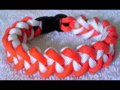 Two Color Jawbone Paracord Bracelet