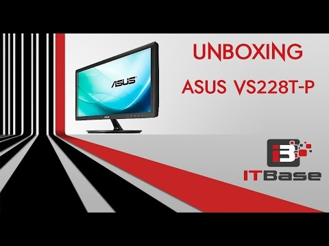 ASUS VS228T-P LED MONITOR - UNBOXING 2016