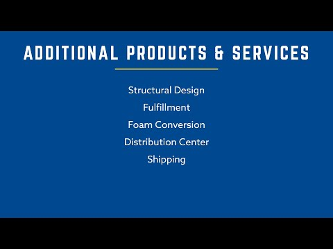 Additional Products & Services