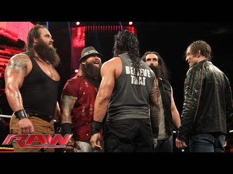 "The Wyatt Family Appears On ""Miz TV"": Raw, Sept. 14, 2015"