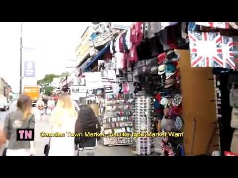 The Candem Town Market London compared to Igbo Market Aba/Warri