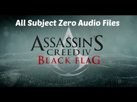 subject - All subject zero audio files that can be found around Abstergo Entertainment.