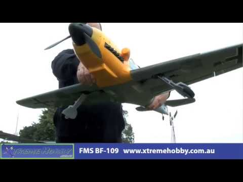 FMS BF-109 Messerschmitt Video 2