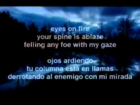 Twilight OST - Eyes On Fire (Letra En Español)