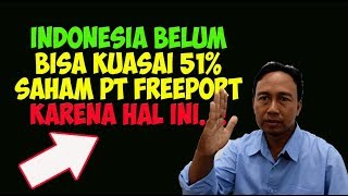 Video Indonesia belum bisa kuasai 51% Saham PT Freeport, Tak disangka karena Hal ini MP3, 3GP, MP4, WEBM, AVI, FLV Oktober 2018