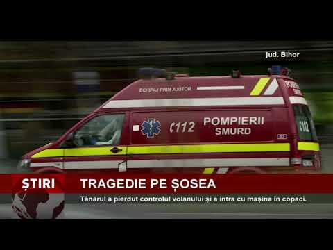 Accident mortal, pe o șosea din Bihor