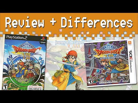 Dragon Quest VIII (3DS) Review + Differences From The PS2