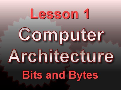 bits - http://xoax.net Lesson Page: http://xoax.net/comp_sci/crs/architecture/lessons/Lesson1/ This computer architecture tutorial explains the basic elements of co...