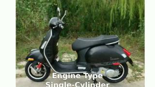 6. 2014 Vespa GTS 300 i.e. Super SE Specification and Features