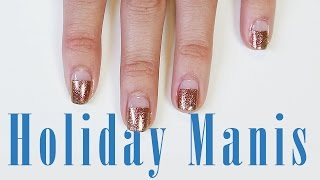 Here are three flawless and fast DIY holiday manicures that are so chic and simple they sleigh! ∞ Subscribe to ICON: http://goo.gl/DptTm ∞ ICON network on the Web:http://youtube.com/ICONnetwork http://facebook.com/ICONnetwork http://twitter.com/ICONnetwork http://pinterest.com/ICONnetwork http://instagram.com/ICONnetwork http://google.com/+ICONnetwork http://icon.networkGet the ICON app for iOS and Android now: http://icon.network/s/iconappICONnetwork is a lifestyle network by Michelle Phan.Michelle PhanYouTube: http://bitly.com/MichellePhanYTFacebook: http://bit.ly/MichellePhanFBTwitter: http://bit.ly/MichelleTweets