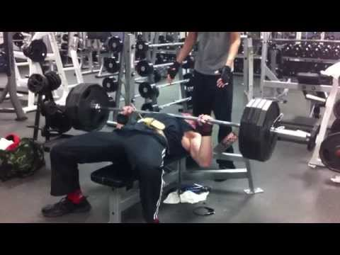 410lb paused bench press for 3 reps