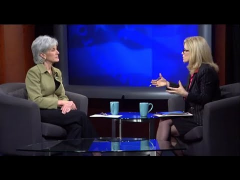 Secretary Sebelius holds a video townhall on women's health with iVillage.com.
