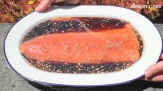 Cómo hacer salmón asado