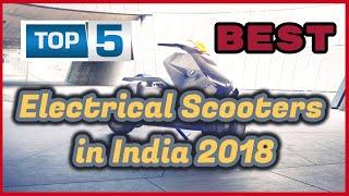 Video Top 5  Best Electric Scooters in India 2018 MP3, 3GP, MP4, WEBM, AVI, FLV Juli 2019