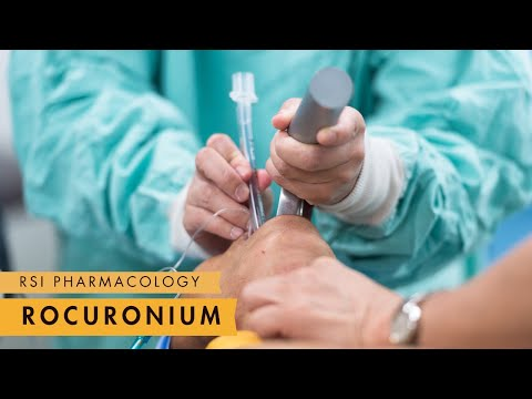 Rocuronium - Rapid Sequence Intubation