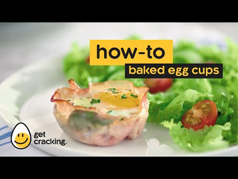 How to make Baked Egg Cups.