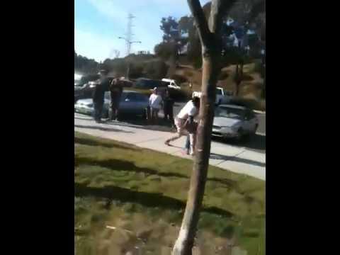 Rumble at skate park