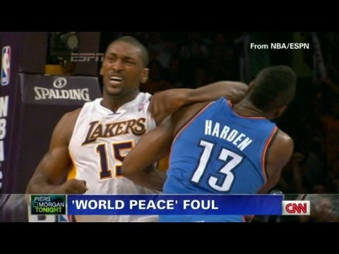 Only in America: Metta World Peace