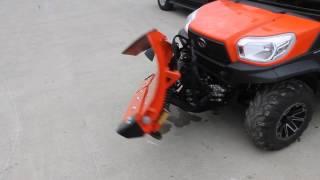 8. Kubota V5291 Hydraulic V-Blade Demo