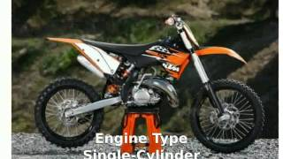 1. 2010 KTM SX 150 Features - motosheets