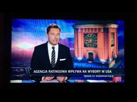 Wpadka Wiadomości TVP – Donald Tusk prezydentem USA.