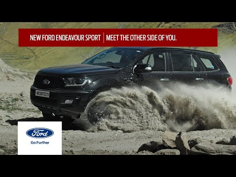 Ford Endeavour Sport-Meet The Other Side Of You