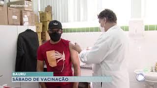 Bauru vacina moradores contra Covid-19 e influenza no sábado