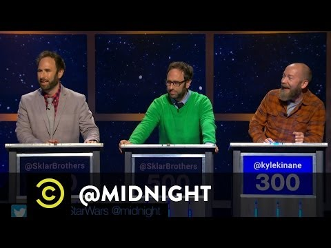Midnight - The comedians #RuinAMovieQuote and come up with #WorseStarWars, #BadVacationSpots and #MonkeyFilms.