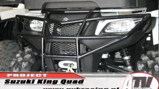 6. ATV Television - 2011 Suzuki King Quad Project