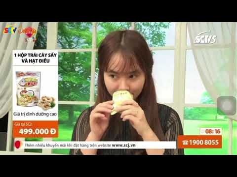 Trái Cây Sấy Thái Lan Phát Sóng Trên SCTV5