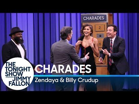 Charades with Zendaya and Billy Crudup