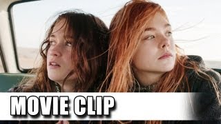 Ginger&Rosa First Movie Clip (2012) - Elle Fanning, Alice Englert