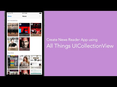 Pt 1: Introduction To Collection View With…