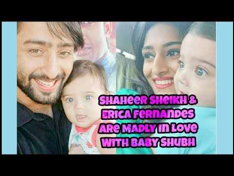 Shaheer Sheikh & Erica Fernandes Are Madly In Love With Baby Shubh - Kuch Rang Pyar Ke Aise Bhi