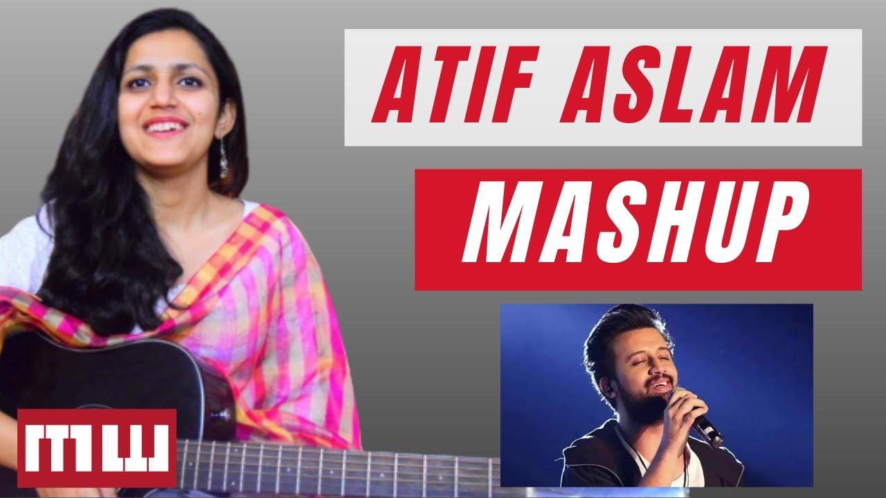 Atif Aslam Mashup| 3 easy chords| 5 beautiful songs| Beginner Lesson| Guitar chords| Music वाले