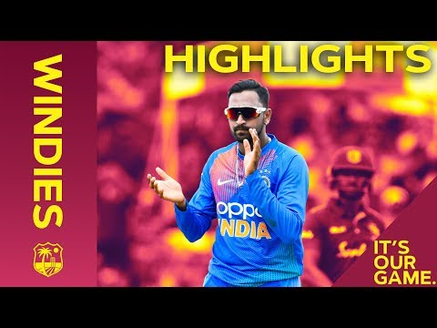 Rohit Hits 50 Before Rain Stops Windies Chase | Windies vs India - Match Highlights | 2nd IT20 2019