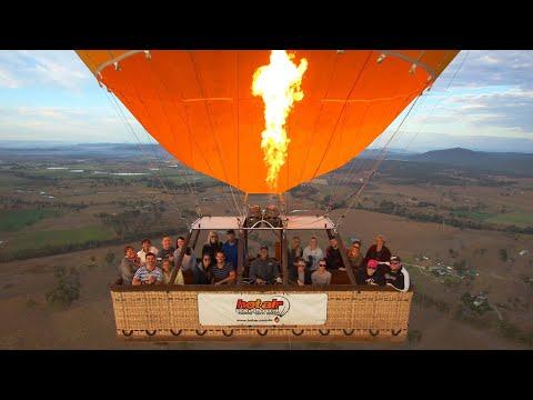 Hot Air Balloon Ride over the Gold Coast Hinterland