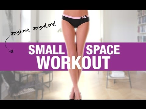 Home ABS and THIGHS Workout (Perfect for SMALL SPACES!!)