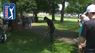 How Phil Mickelson hits through a narrow opening by PGA TOUR